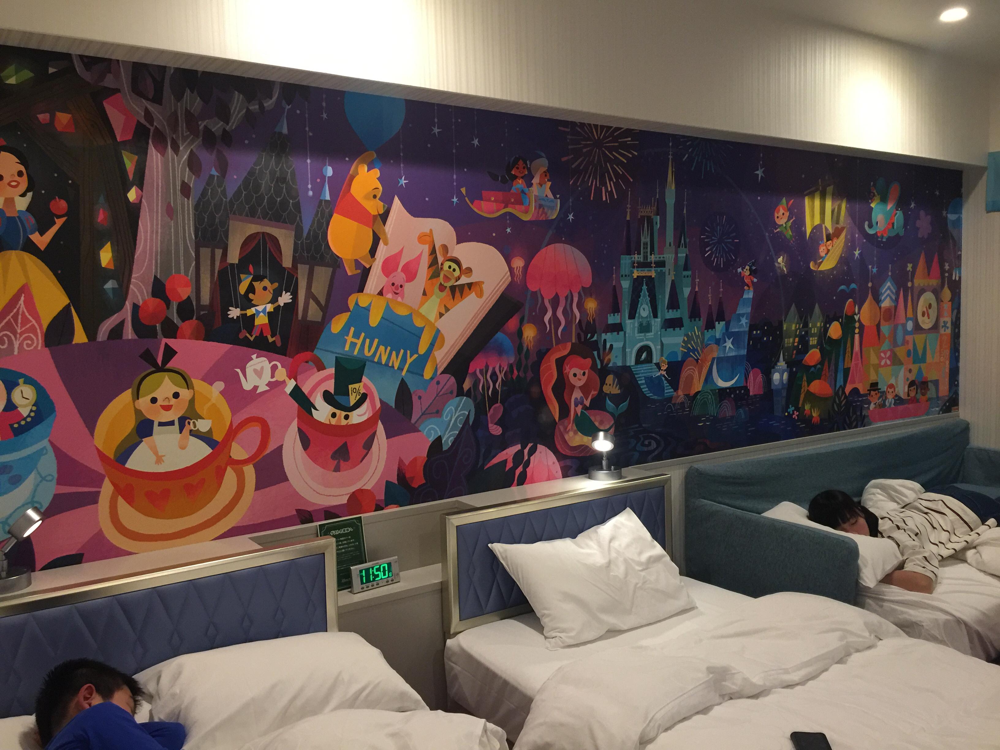 東京ディズニーランド 家族旅行 ディズニーランドホテルに宿泊してきまし